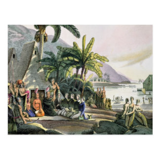 The Expedition Party and King Kamehameha I Postcard