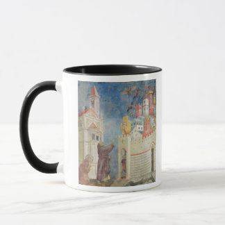 The Expulsion of the Devils from Arezzo, 1297-99 Mug