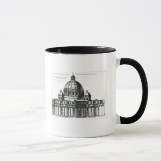 The Exterior of St. Peter's Basilica in Rome Mug