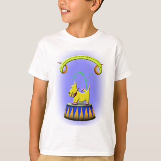 the extraordinary human footed scottie dog T-Shirt