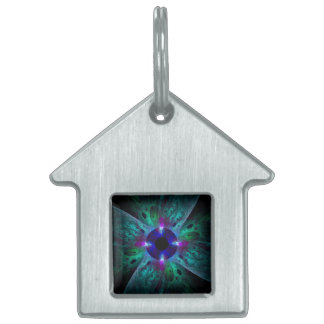 The Eye Abstract Art House Pet Tag