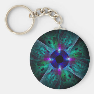 The Eye Abstract Art Keychain