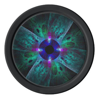 The Eye Abstract Art Poker Chips
