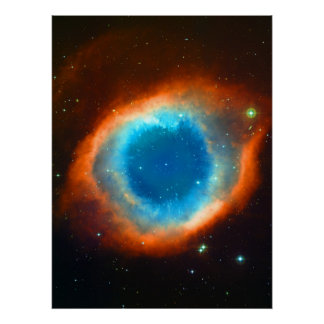 The Eye of God - Helix Nebula Astronomy Image Poster