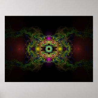 The Eye of God Print