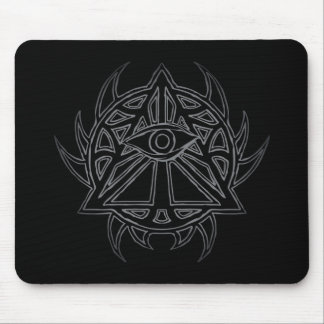 The Eye of Providence - All-Seeing Eye Mousepad. Mouse Pad