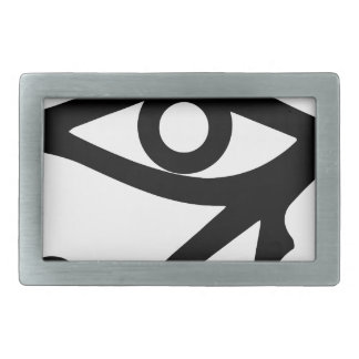 The Eye of Ra Rectangular Belt Buckle