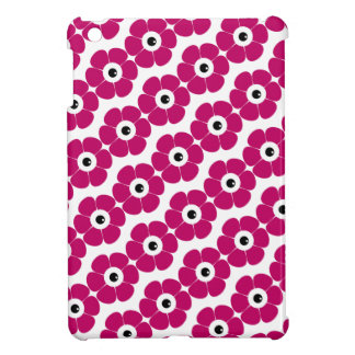 the eye of the pink flower iPad mini case