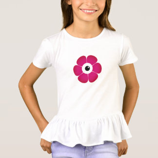 the eye of the pink flower T-Shirt