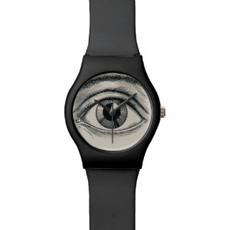 The eye sees all. wrist watch