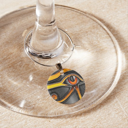 The Eye Wine Charm