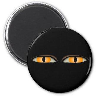 The Eyes Design 2 Inch Round Magnet