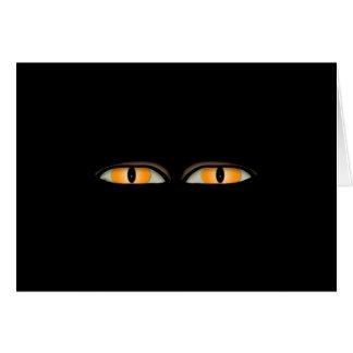 The Eyes Design Card