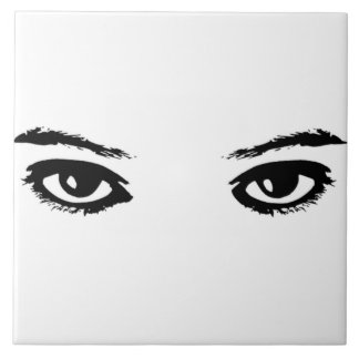 The Eyes Have It Ceramic Tile