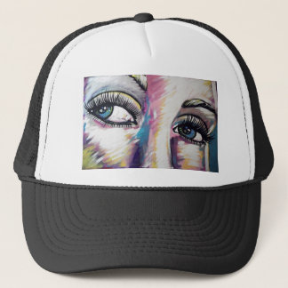 THE EYES HAVE IT TRUCKER HAT