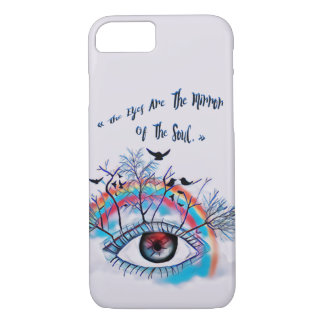 The Eyes iPhone 8/7 Case