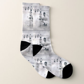 "The Eyes of Keke ""Galveston"" Unisex Socks 1"
