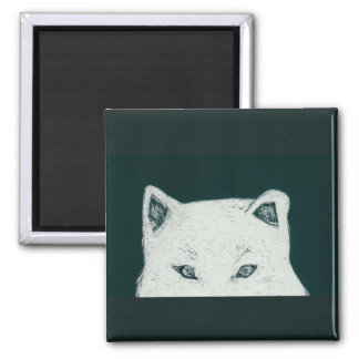 the eyes square magnet