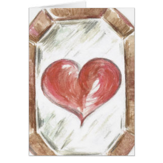 The Eyes that mirror the Heart Card