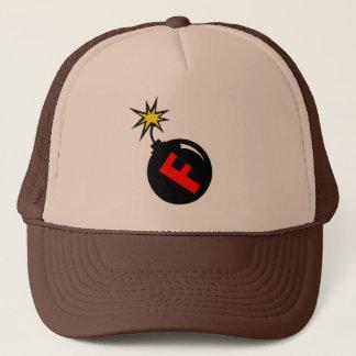 the f-bomb trucker hat