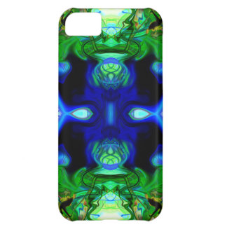 the face of nature iPhone 5C case