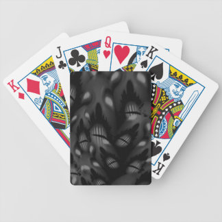 The Faces of dead Bicycle Playing Cards