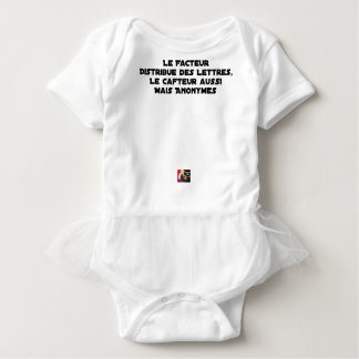 THE FACTOR DISTRIBUTES LETTERS, THE SNEAK TOO BABY BODYSUIT