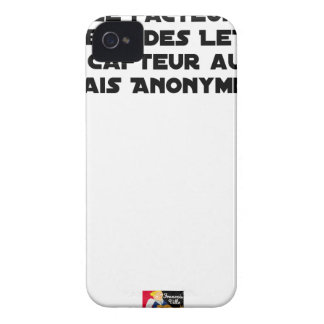 THE FACTOR DISTRIBUTES LETTERS, THE SNEAK TOO Case-Mate iPhone 4 CASES