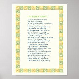 The Faerie Dance - A Beautiful Love Poem - Print