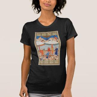 The Fainting of Laylah and Majnun Nizami's Khamsah T-Shirt