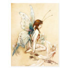 The Fairies Brought Her A Pair of Wings Postcard