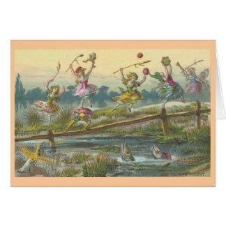 The Fairies Haunt Card