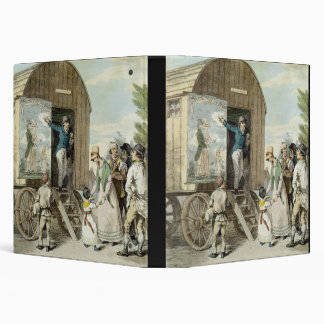 The Fairs: The Show, c.1821 (colour litho) Binder