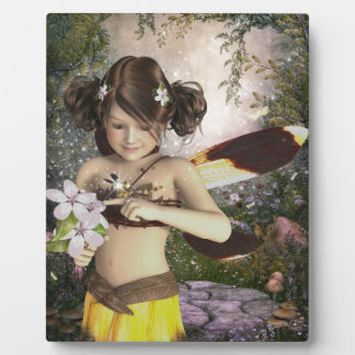 The Fairy and the Dragonfly Display Plaques