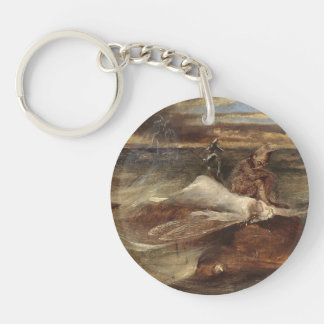 The Fairy and the Sea Serpent Keychain