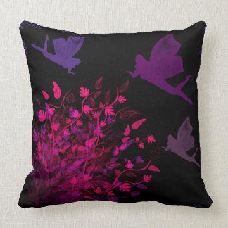 The Fairy Bush by Julie Everhart Throw Pillow