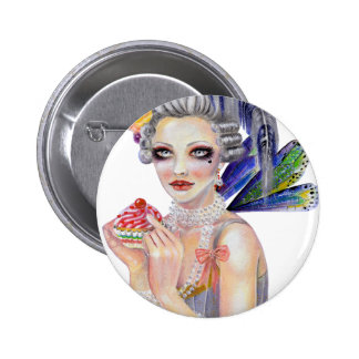 The Fairy Godmother Marie Antoinette 2 Inch Round Button