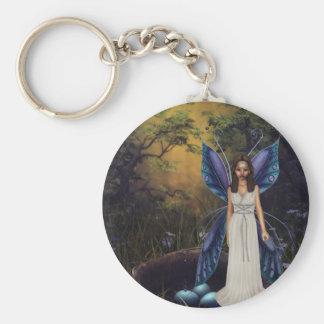 The Fairy Nest Basic Round Button Keychain