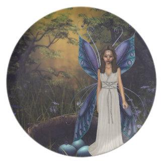 The Fairy Nest Dinner Plates