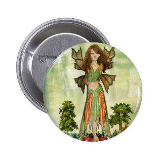 The Fairy of Nature 2 Inch Round Button