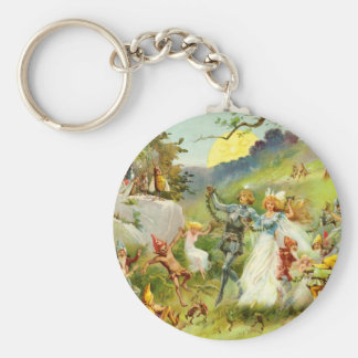 The Fairy Prince and Thumbelina Keychain
