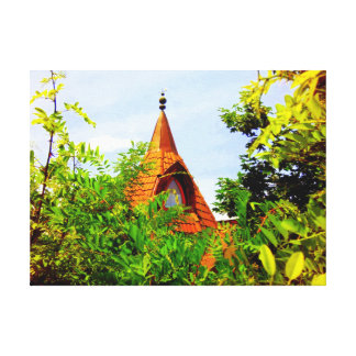 The Fairy Tale House Canvas Print