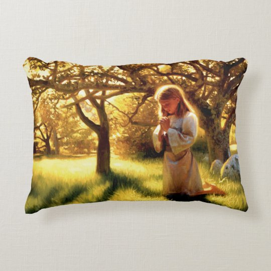 The Faith Of A Child Accent Pillow