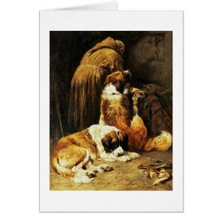 The Faith of St. Bernard Card