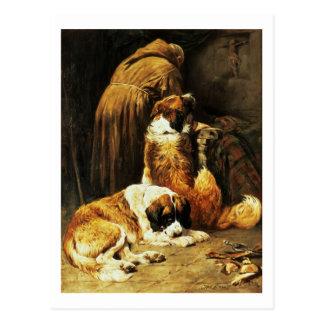 The Faith of St. Bernard Postcard