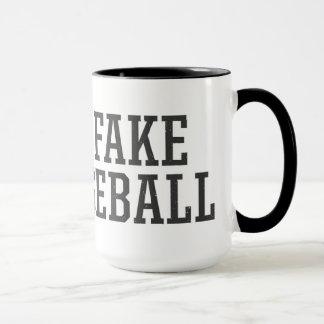 The Fake Baseball Mug