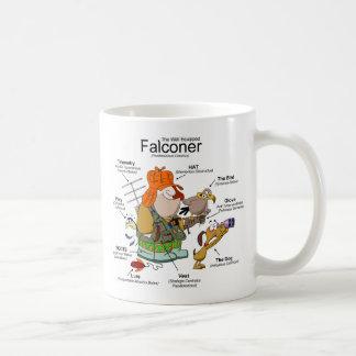 The Falconer Cartoon Mug
