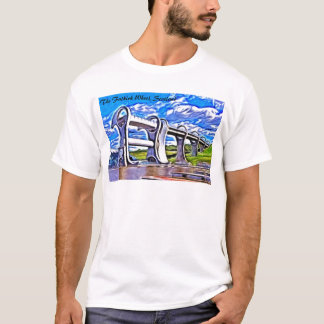 The Falkirk Wheel, Scotland T-Shirt