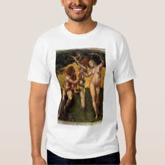 The Fall - Adam and Eve by Raphael Sanzio T Shirt