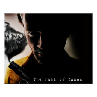 The Fall of Kaden limited edition poster